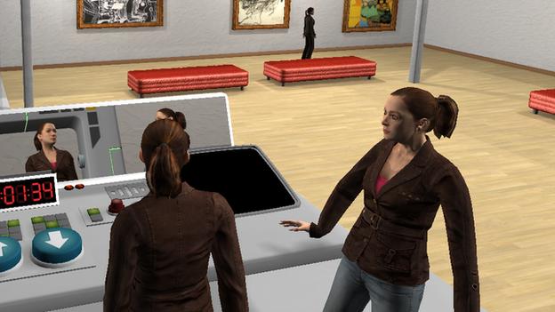 """Os participantes no estudo podem ver e ouvir os seus """"eus anteriores virtuais"""" quando viajam no tempo"""