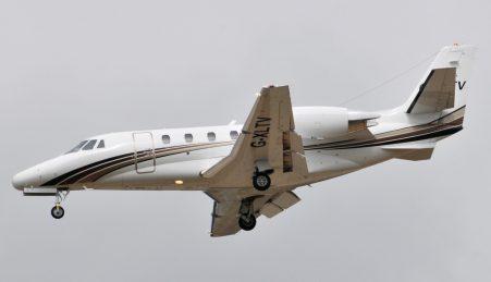 Aeronave Cessna 560XL Citation, ikdêntica à que transportava Eduardo Campos no voo que o vitimou