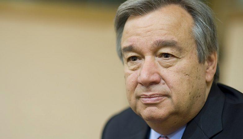 Ex-primeiro-ministro, ex-líder do PS, o Alto Comissário das Nações Unidas para os Refugiados, António Guterres