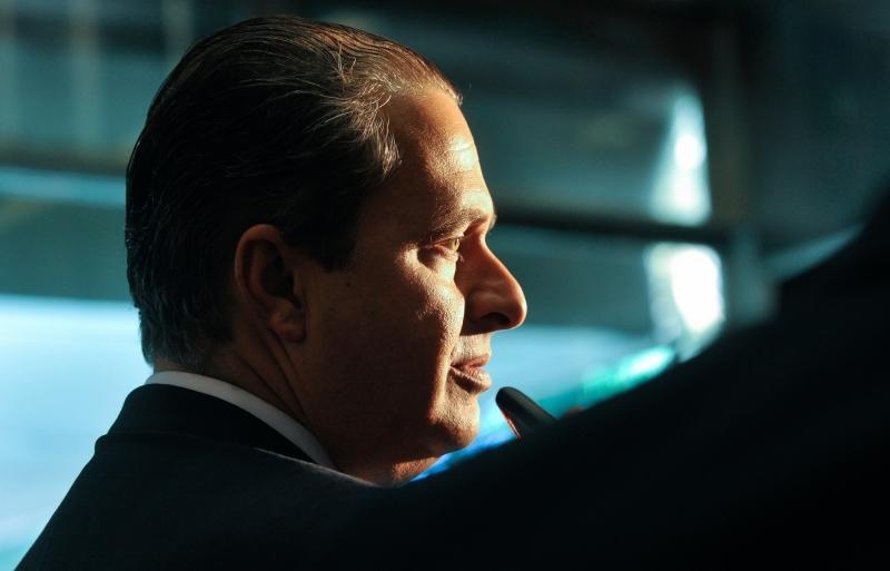 Eduardo Campos, político brasileiro, líder do PSB, ex-Governador de Pernambuco e candidato à presidência do Brasil