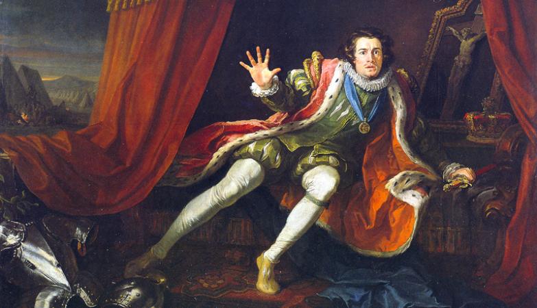 Ricardo III por William Hogarth (1697–1764)