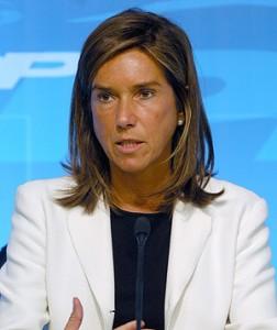 A ministra da Saúde de Espanha, Ana Mato