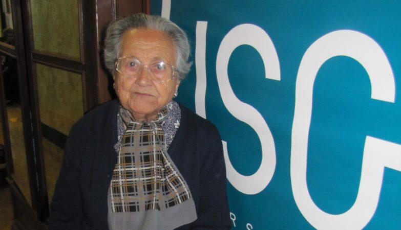 Vitalina Almeida, a estudante mais velha da Universidade Sénior de Grândola, completa 100 anos no dia 25 de setembro