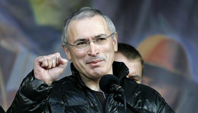 O dissidente russo Mikhail Khodorkovski