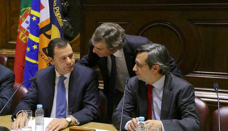 Luís Montenegro (PSD) e Nuno Magalhães (CDS-PP) no Parlamento