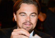"""Leonardo DiCaprio, em Paris, na estreia de """"The Wolf of Wall Street"""""""