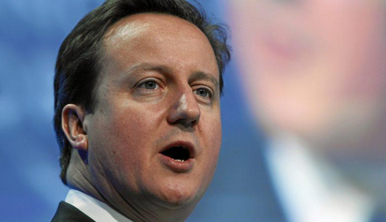 O primeiro ministro britânico, David Cameron