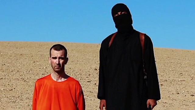 O britânico David Haines, alegadamente decapitado pelo Estado Islâmico