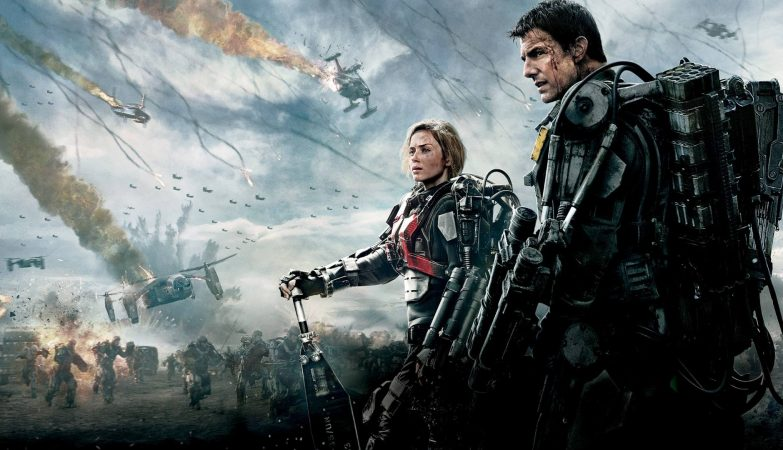 Edge of Tomorrow (2014), de  Doug Liman, com Tom Cruise e Emily Blunt