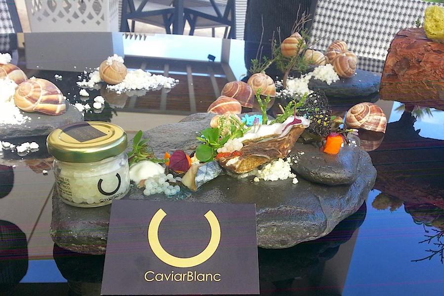 Caviar branco, ou ovas de caracol, de Olhão para o Mundo