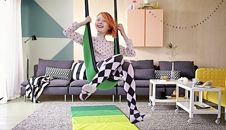 O baloiço para criança GUNGGUNG da IKEA foi retirado do mercado