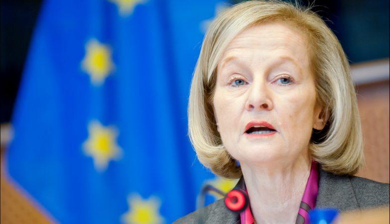 Danièle Nouy, presidente do Conselho de Supervisão do Mecanismo Único de Supervisão do Banco Central Europeu
