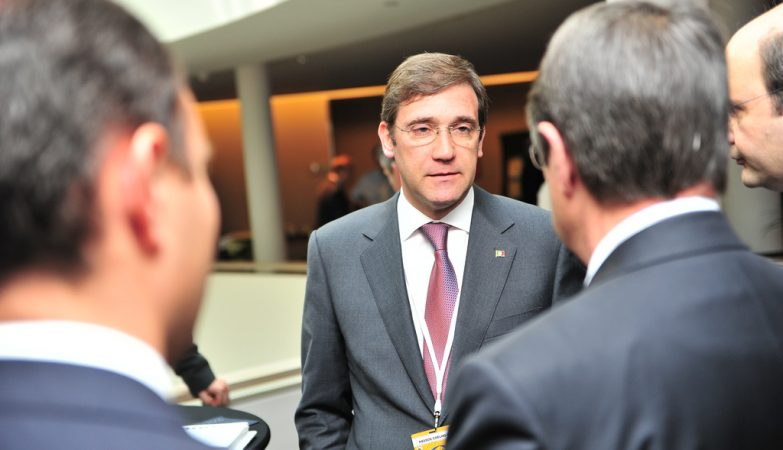 O ex-primeiro-ministro, Pedro Passos Coelho