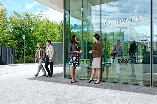 Sede da Novartis em Basileia, na Suiça