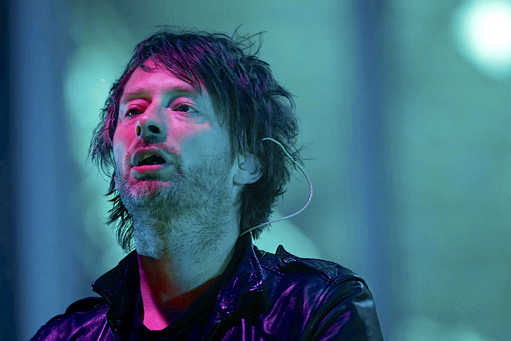 Thom York, vocalista dos míticos Radiohead