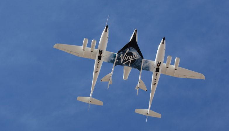 SpaceShipTwo, a segunda nave espacial da Virgin