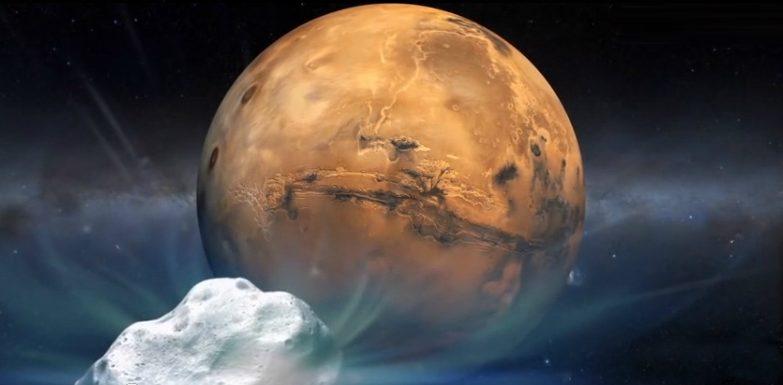 A NASA prepara-se para o encontro do cometa Siding Spring com Marte