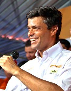 Leopoldo López, um dos líderes da oposição a Nicolas Maduro na Venezuela