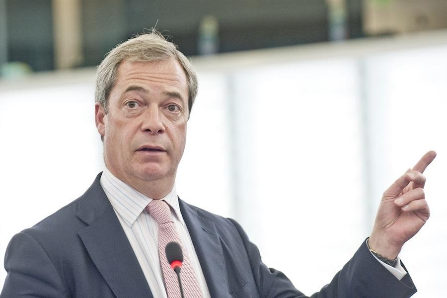 O ex-líder do UKIP, Nigel Farage
