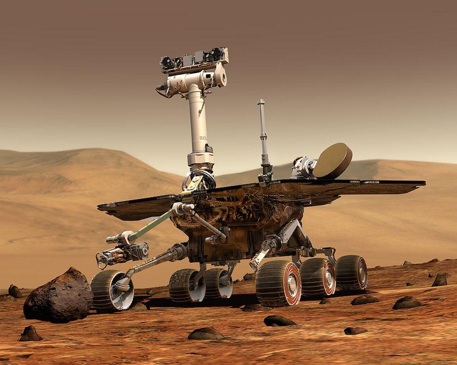 Mars River, o veículo que a NASA desenvolveu para a exploração de Marte