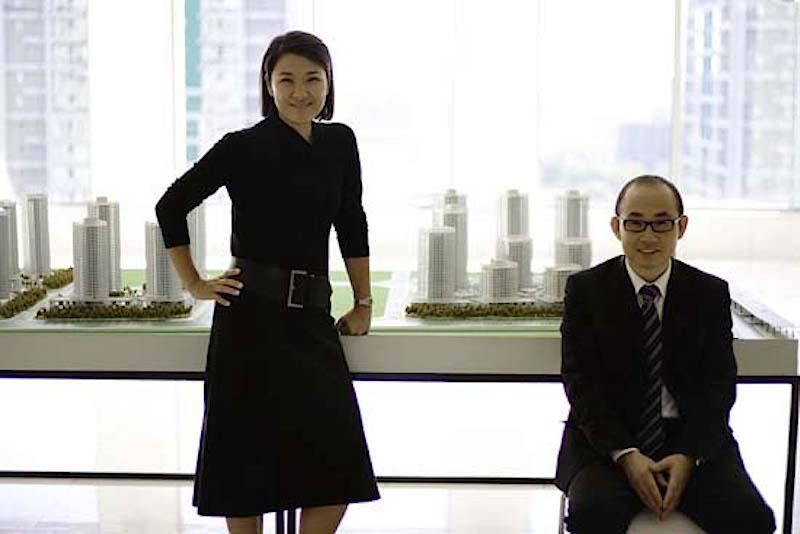 Zhang Xin e Pan Shiyi lideram o império imobiliário SOHO China