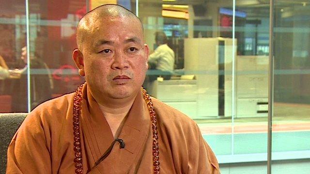 Shi Yongxin, Grande Mestre Shaolin, ou CEO do Templo