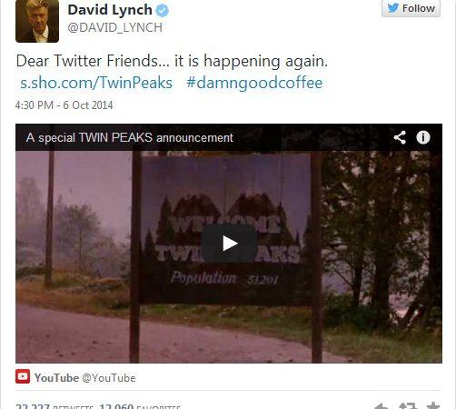 david lynch twitter