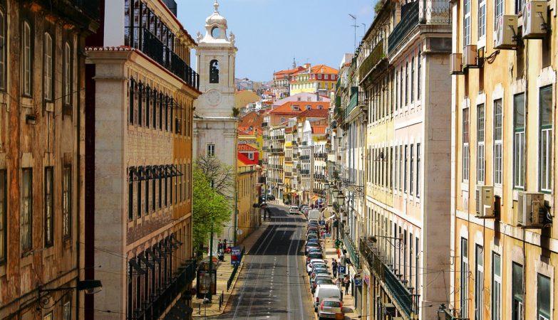 Rua de São Paulo em Lisboa