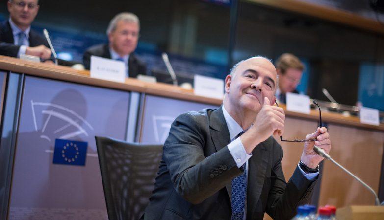 Pierre Moscovici, comissário europeu para os Assuntos Económicos e Financeiros