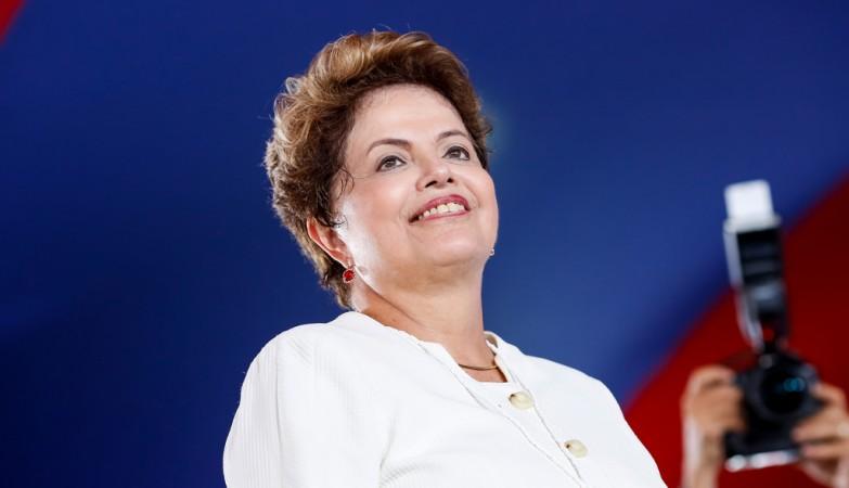 A presidente reeleita do Brasil, Dilma Rousseff