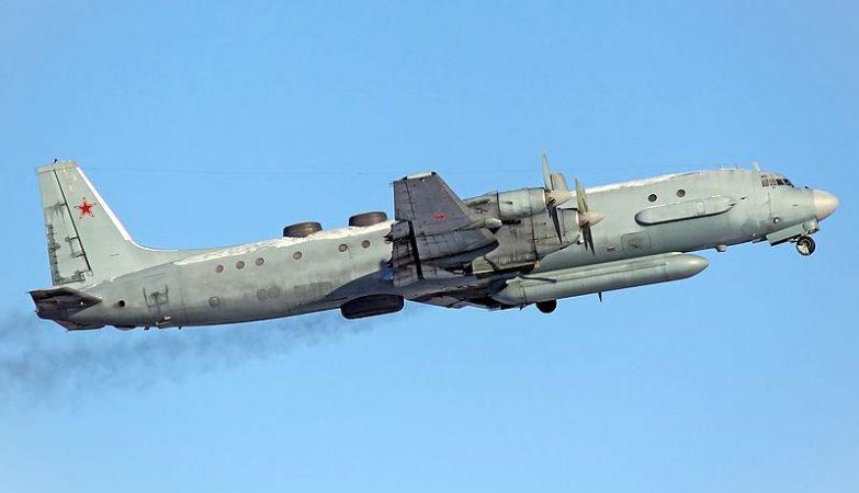 Avião espião Ilyushin Il-20M da Força Aérea russa
