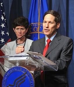 Thomas Frieden, o Director do  Centro de Controle de Doenças, CDC