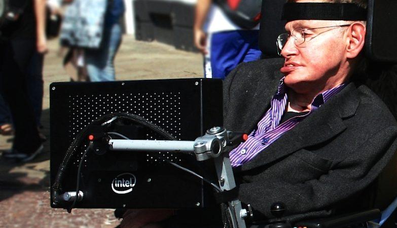 O físico teórico Stephen Hawking - provavelmente, o maior do nosso tempo.