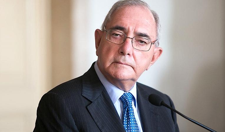 O ministro dos Negócios Estrangeiros, Rui Machete