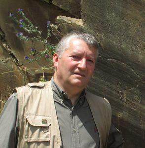 O arqueólogo Martinho Batista