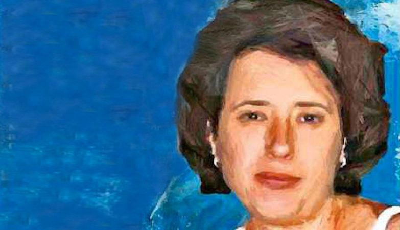 Detalhe de capa da revista espanhola ABC com pintura de Teresa Romero