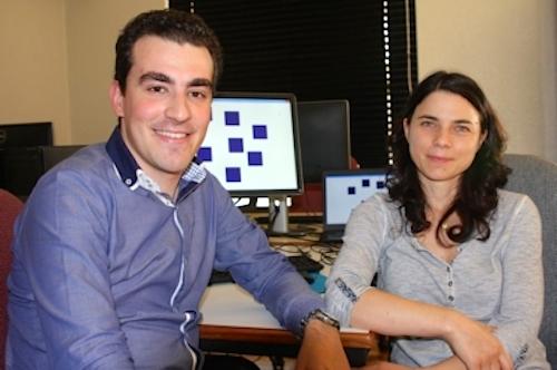 Os investigadores Pedro Rodrigues e Josefa Pandeirada, do Departamento de Psicologia da Universidade de Aveiro