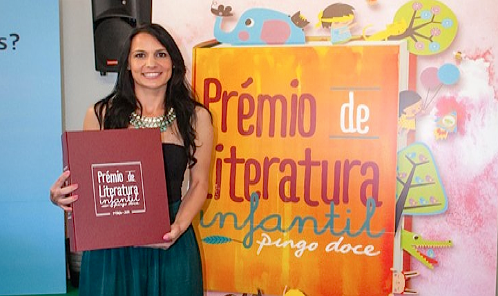 Joana Pires Lopes, vencedora do Prémio Literatura Infantil 2014