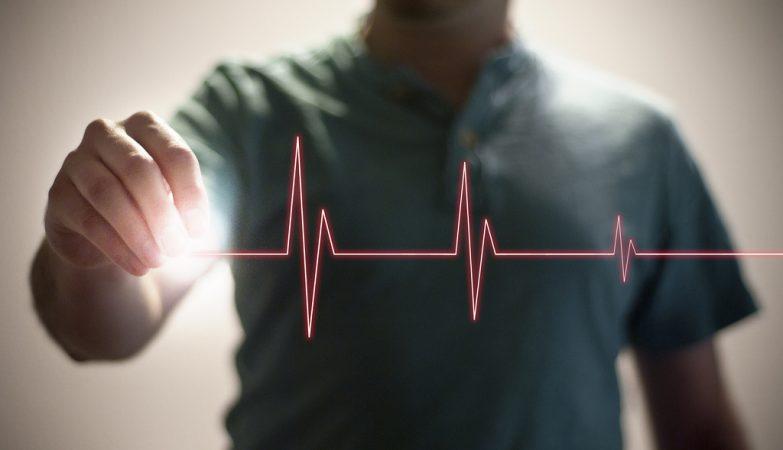O batimento cardíaco é muito diferente em pacientes doentes e saudáveis