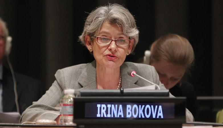 Irina Bokova, Directora-Geral da Unesco
