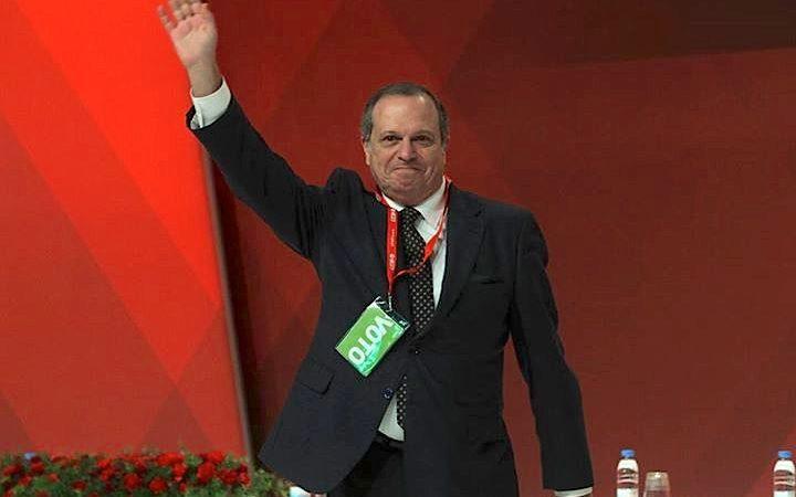 O presidente do PS, Carlos César
