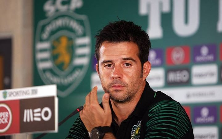 Marco Silva, treinador do Sporting