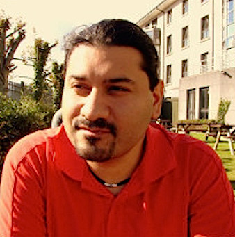 O investigador mexicano António Aguillar, da Universidade de Galway