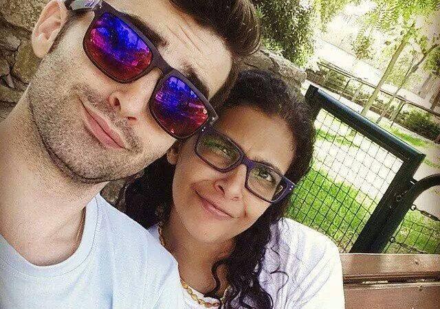 Eugénia e Gonçalo Queiroz, pais de Margarida