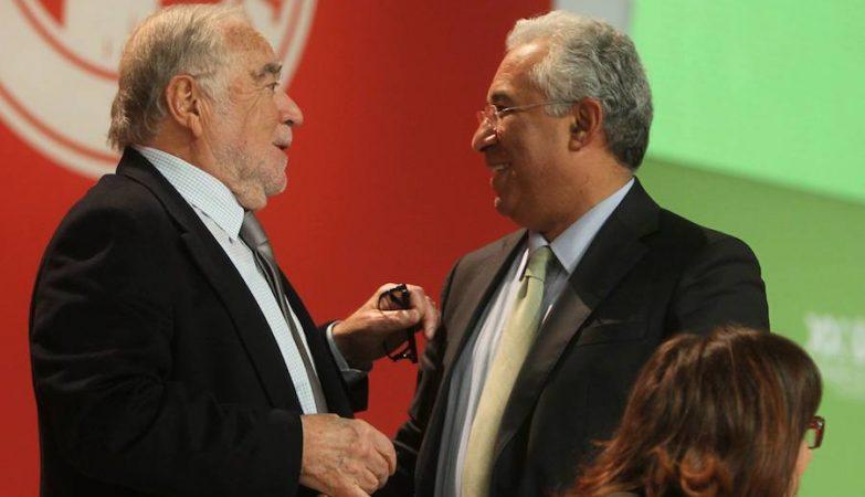 Manuel Alegre com António Costa