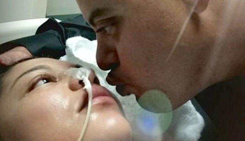 Jenny Quiles acordou do coma para dar à luz Angel Noemi