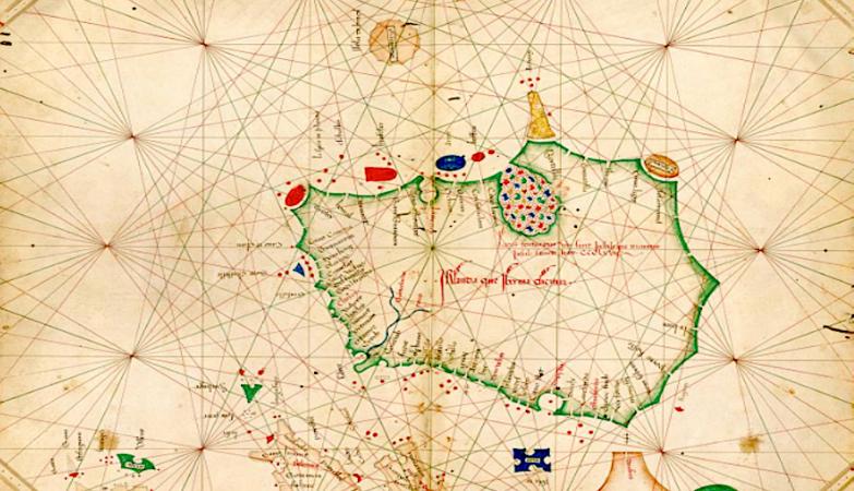 Atlas do século XV de Grazioso Benincasa