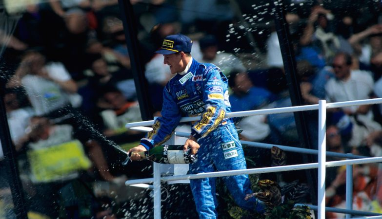 O primeiro título de Michael Schumacher, em 1994, pela Benetton