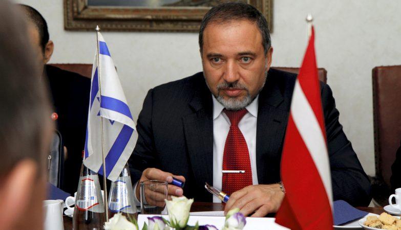 Avigdor Lieberman, ministro dos Negócios Estrangeiros de Israel
