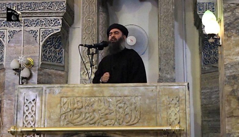 O líder do Estado Islâmico, Abu Bakr al-Baghdadi